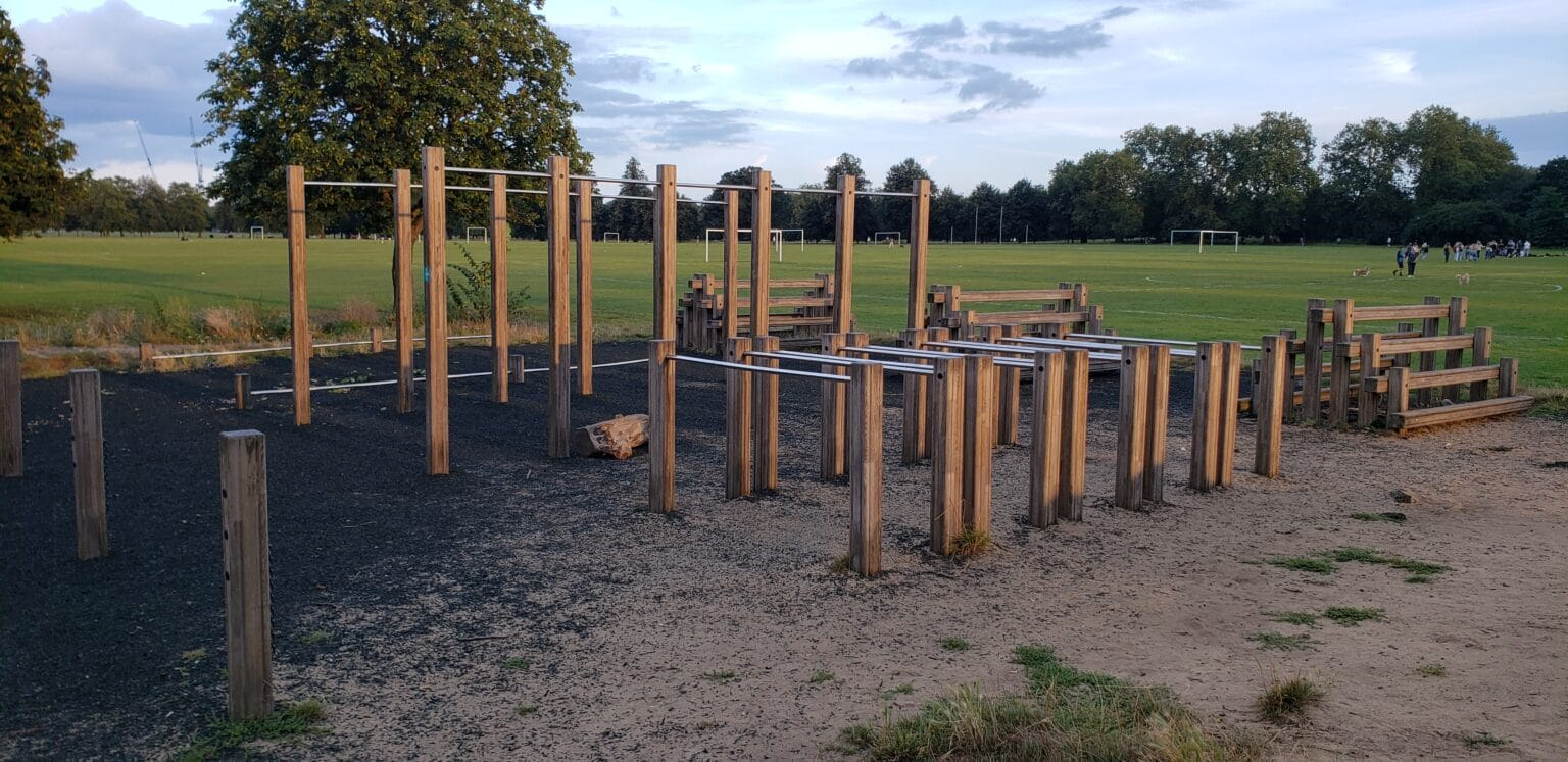 Clapham Common North Outdoor Fitness Rig