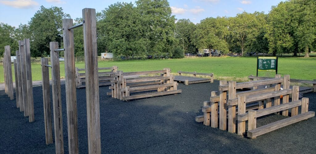 Clapham Common South Outdoor Fitness Rig
